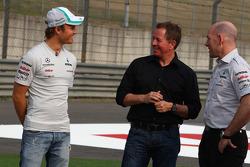 Nico Rosberg, Mercedes GP, Martin Brundle, BBC Television