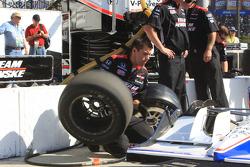 Team Penske team members at work