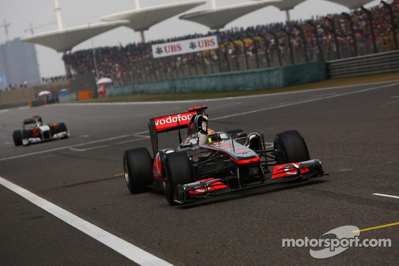 2011 : Lewis Hamilton, McLaren MP4-26