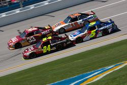 Jeff Gordon, Hendrick Motorsports Chevrolet, Mark Martin, Hendrick Motorsports Chevrolet, Clint Bowy