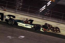 Rodolfo Lavin crashes in turn four