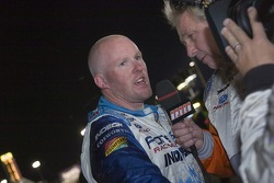 Paul Tracy, not happy at all