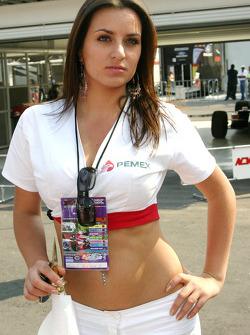 a Pemex girl