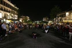 Live entertainment in Old Montréal