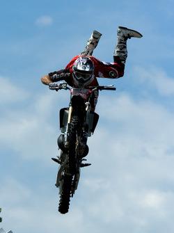 Freestyle motocross show
