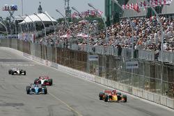 Pace laps: Sébastien Bourdais and Paul Tracy