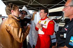 Pole winner #22 Ferrari of Ft. Lauderdale Ferrari 458 Challenge: Enzo Potolicchio
