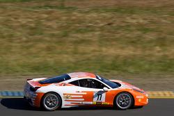 #77 Ferrari of Silicon Valley Ferrari 458 Challenge: Harry Cheung