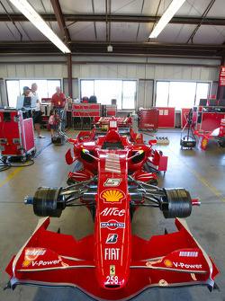Ferrari F1 Clienti garage area