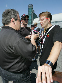 Molson Indy 2005 media event: Sébastien Bourdais
