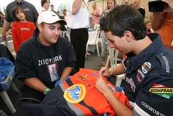 Andrew Ranger at a charity event for hospitalized children