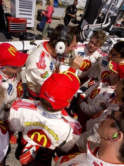 McDonald's team huddle