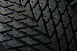 Rain tire detail