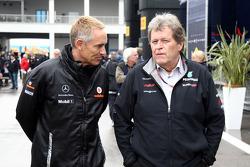 Martin Whitmarsh, McLaren, Chief Executive Officer, Norbert Haug, Mercedes, Motorsport chief