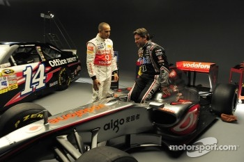 Lewis Hamilton and Tony Stewart will swap cars at Watkins Glen on June 14th