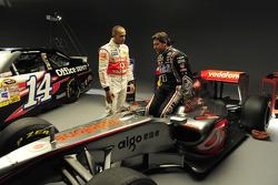 Lewis Hamilton ve Tony Stewart will swap Cars, Watkins Glen, June 14th