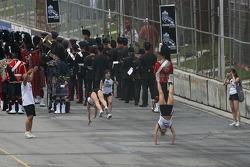 Cheerleaders show