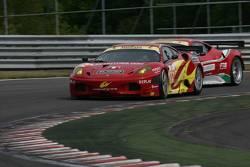 #72 AF Corse Ferrari F430: Robert Kauffman, Rui Aguas, Michael Waltrip