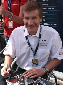 Former F1 and Le Mans winner, Thierry Boutsen