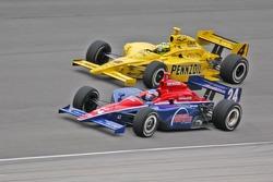 Roger Yasukawa et Tomas Scheckter