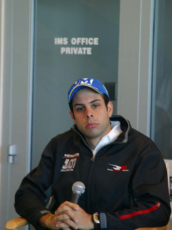 Rahal Letterman Racing press conference: Vitor Meira
