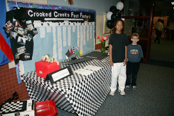 500 Festival and Indy 500 Education Program presentation at Crooked Creek Elementary in Indianapolis