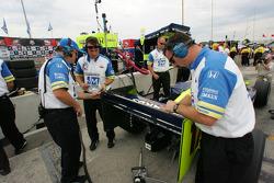 Rahal Letterman Racing crew members at work