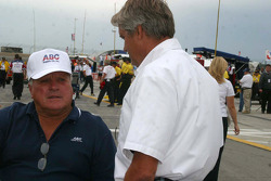 A.J. Foyt and Eddie Cheever