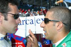 Dario Franchitti and Tony Kanaan
