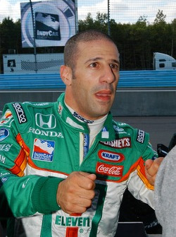 And Tony Kanaan had his hands full