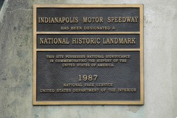 The National Park Service recognizes the Speedway's historic status.  The Speedway is older than the Park Service.