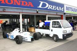 Hemelgarn Racing garage area