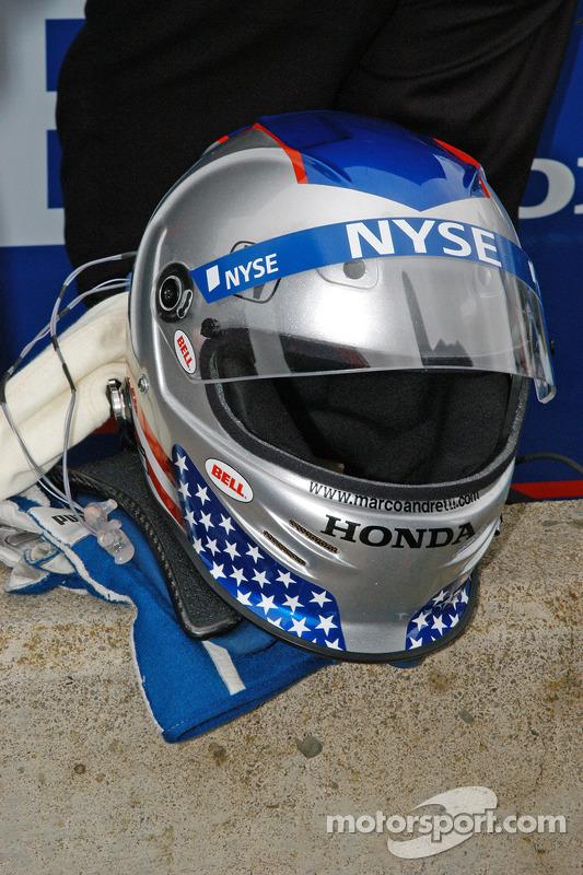Casque de Marco Andretti