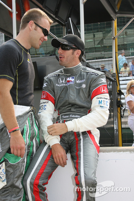 Ed Carpenter et Tomas Scheckter