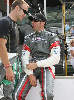 Ed Carpenter and Tomas Scheckter