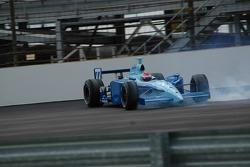 Stephan Gregoire crashes