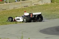Tomas Scheckter spins entering turn 5