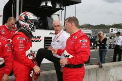Dan Wheldon and Roger Penske