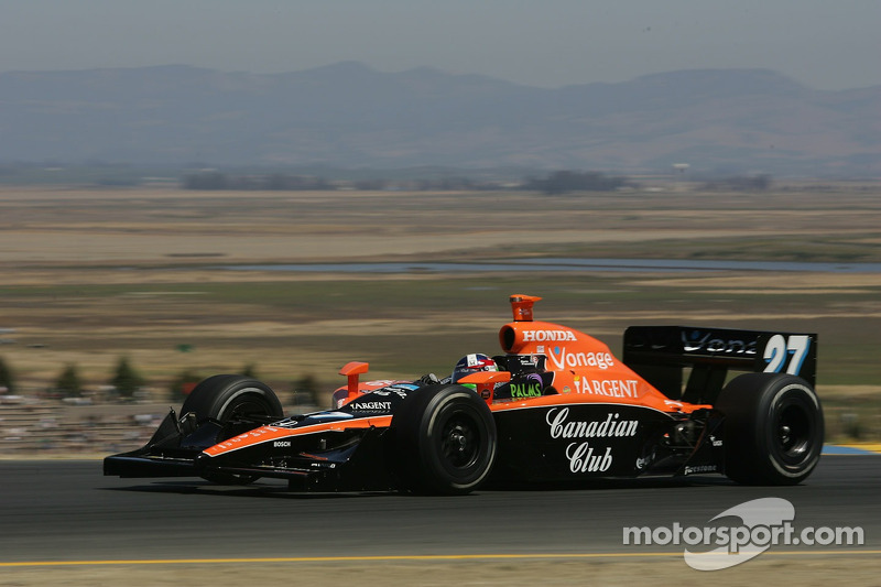 2007 IRL: Dario Franchitti, Andretti/Green Racing, Dallara-Honda