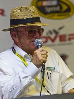Post-race press conference: Jack Roush