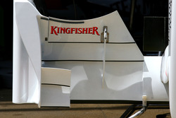 Force India F1 Team, Technical detail, front wing