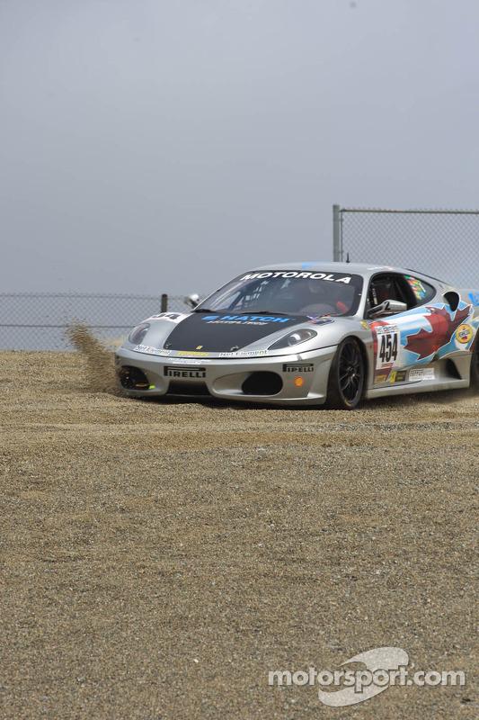 #454 Ferrari of Ft. Lauderdale Ferrari F430 Challenge: Rob Metka, going through the gravel
