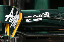Team Lotus Technical detail front wing