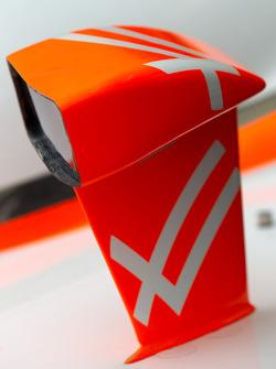 Car detail of Dan Wheldon, Bryan Herta Autosport with Curb / Agajanian