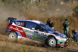 Jari-Matti Latvala et Miikka Anttila, Ford Fiesta RS WRC, BP Ford Abu Dhabi World Rally Team