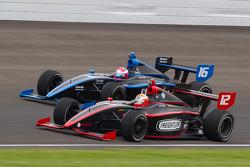 Juan Pablo Garcia, Jensen Motorsport and David Ostella, Jensen Motorsport