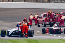 David Ostella, Jensen Motorsport after spinning
