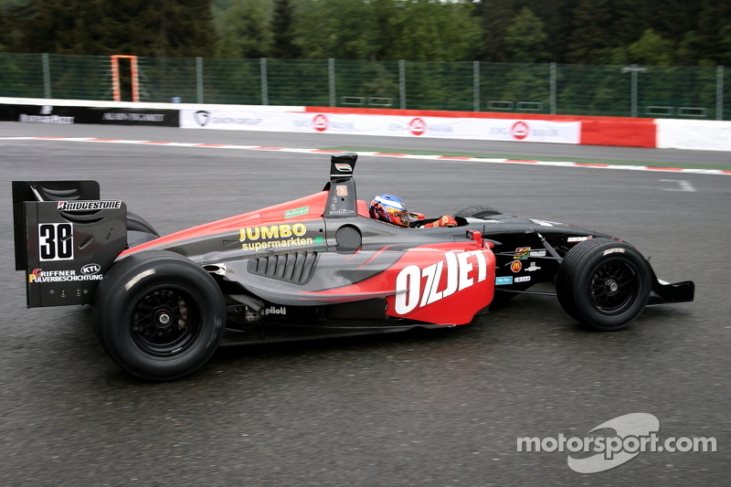 30 Peter Milavec, Panoz DP01 Champcar 2007 at EuroBoss: Spa