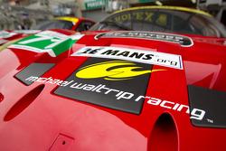 #71 AF Corse Ferrari 458 Italia Michael Waltrip signage