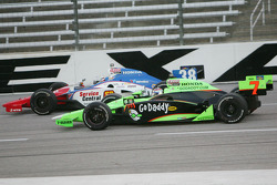 Danica Patrick, Andretti Autosport, Graham Rahal, Service Central Chip Ganassi Racing